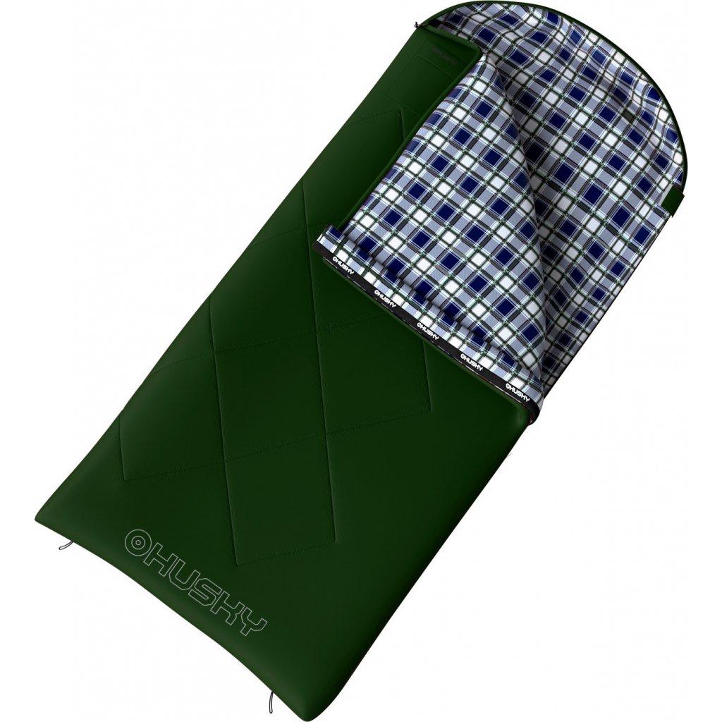 Spacák dekový HUSKY Gary -5°C zelená
