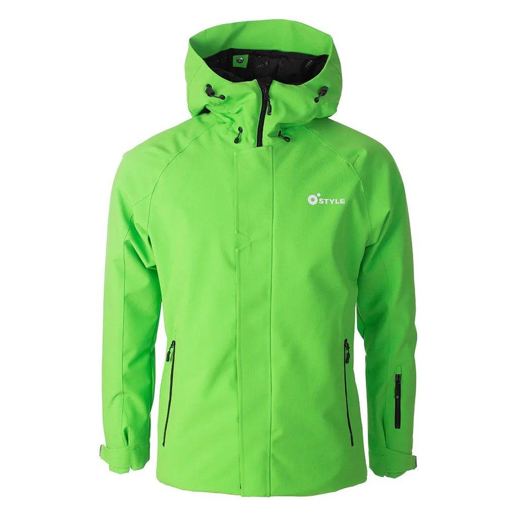Lyžařská bunda O'STYLE Club zelená