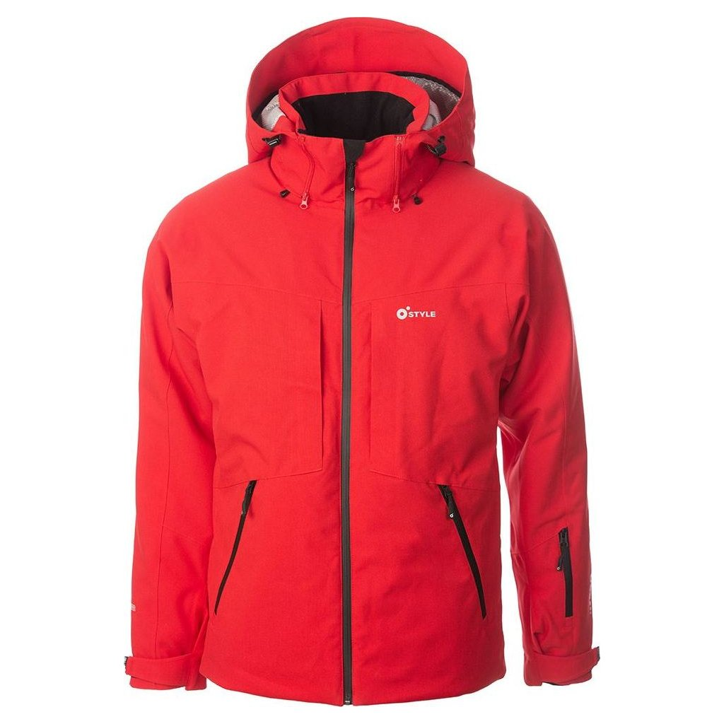 Lyžařská bunda O'STYLE Lautus II červená