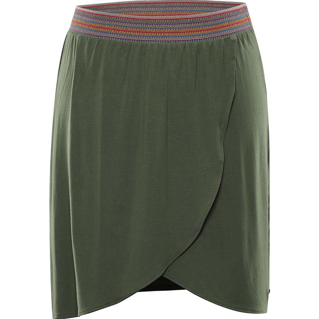Dámská sukně ALPINE PRO Gaya khaki