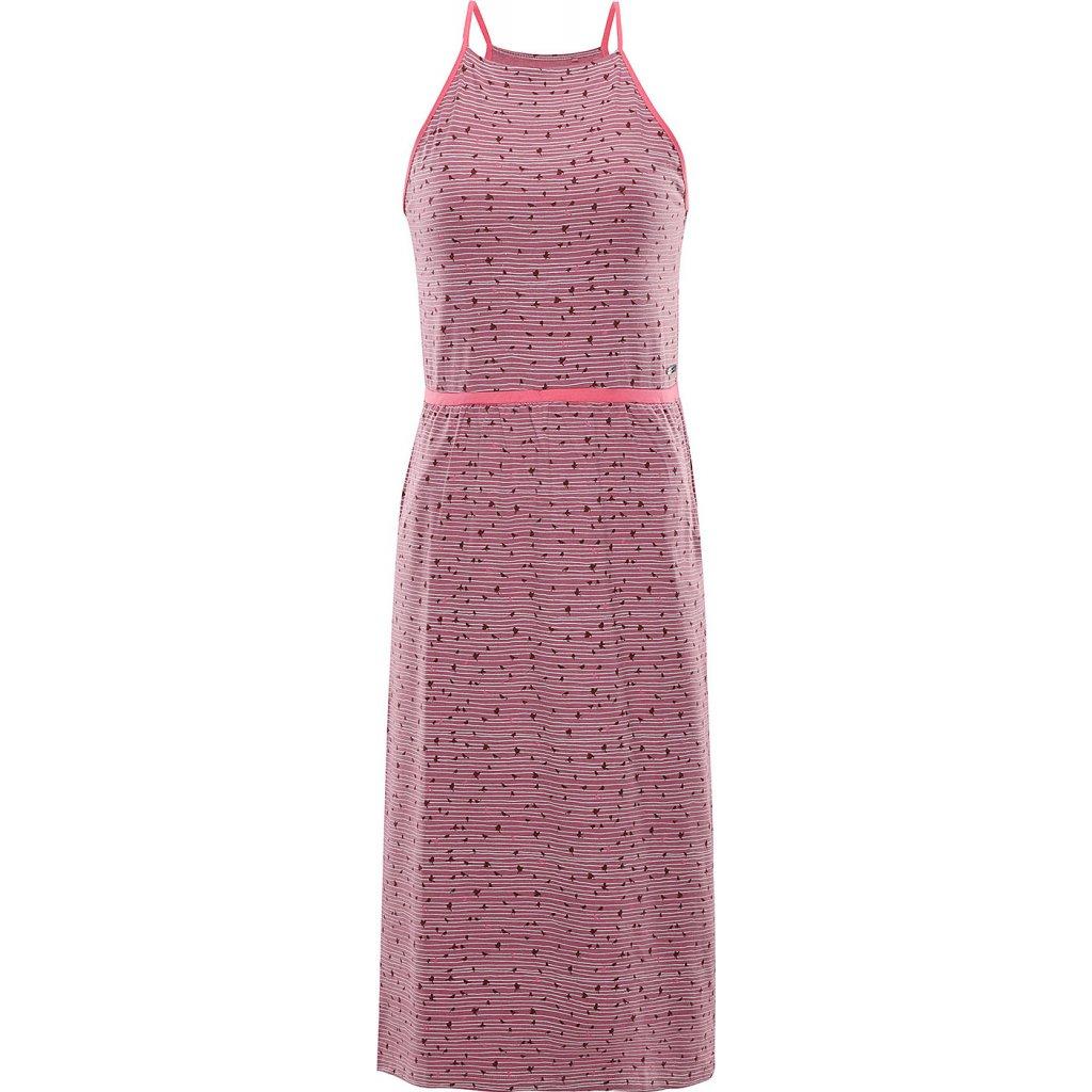 Dámské šaty ALPINE PRO Gyra růžové