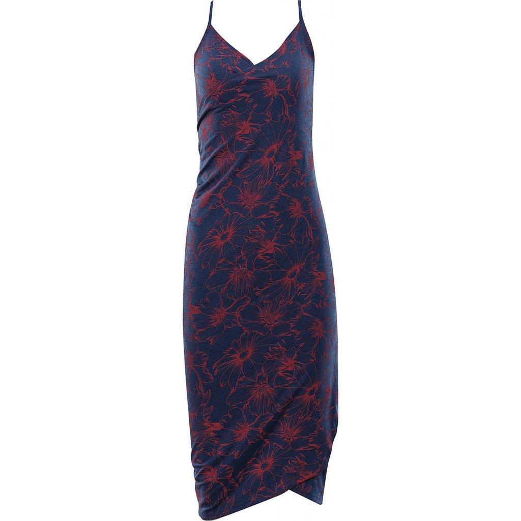 Dámské plážové šaty ALPINE PRO Yara modré