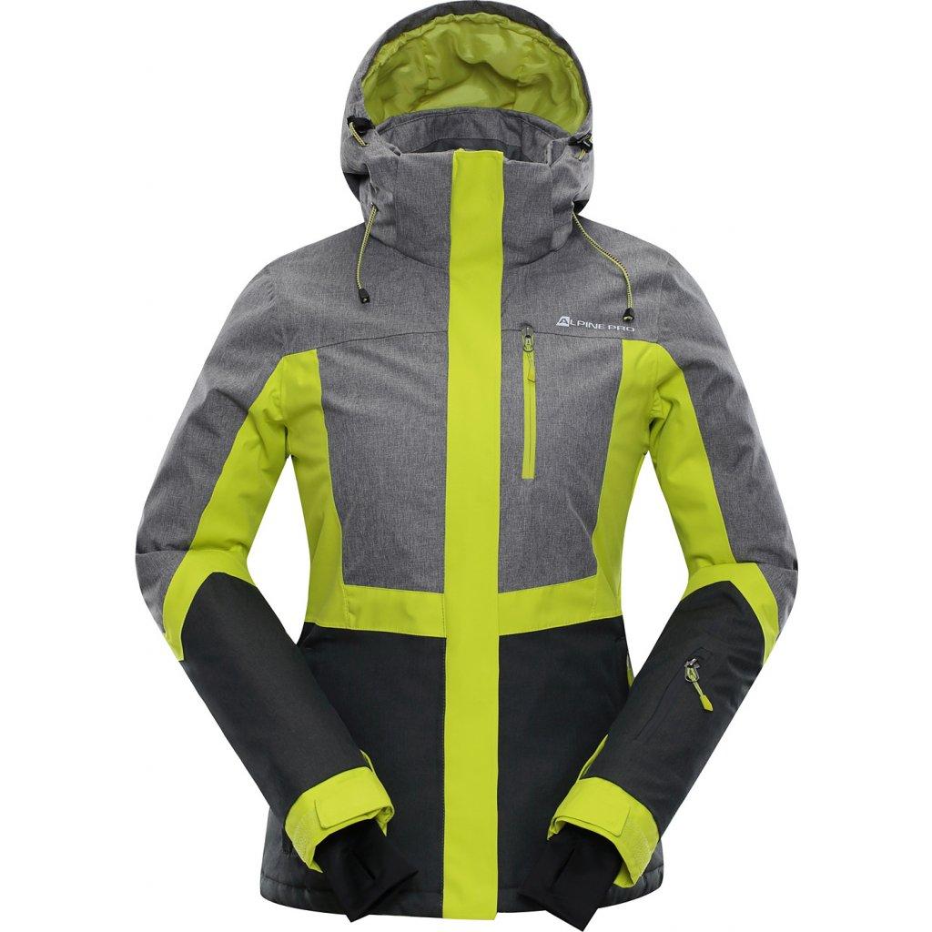 Dámská lyžařská bunda ALPINE PRO Sardara 2 šedá