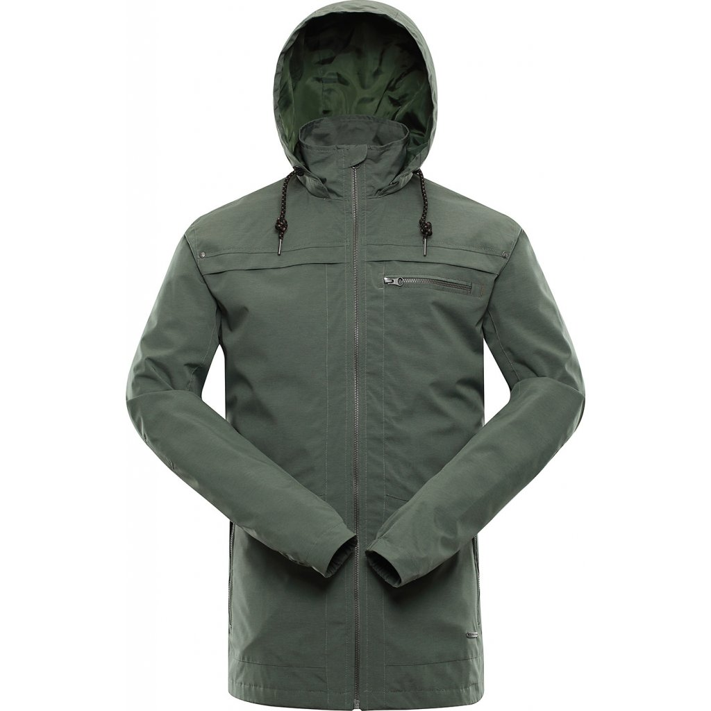 Pánská městská bunda ALPINE PRO Ganer khaki