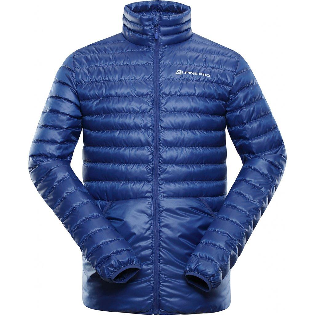Pánská péřová bunda ALPINE PRO Fir modrá