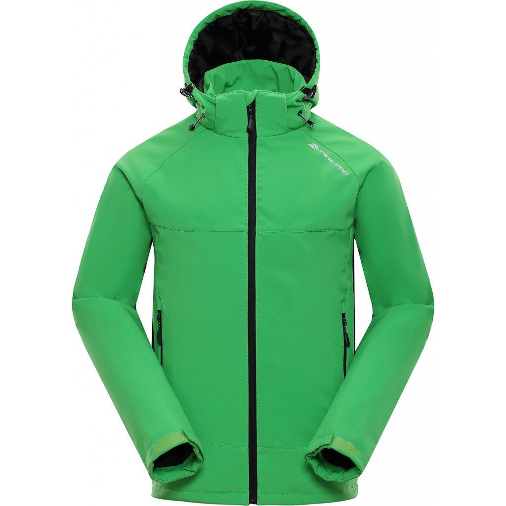 Pánská softshellová bunda ALPINE PRO Nootk INS. zelená
