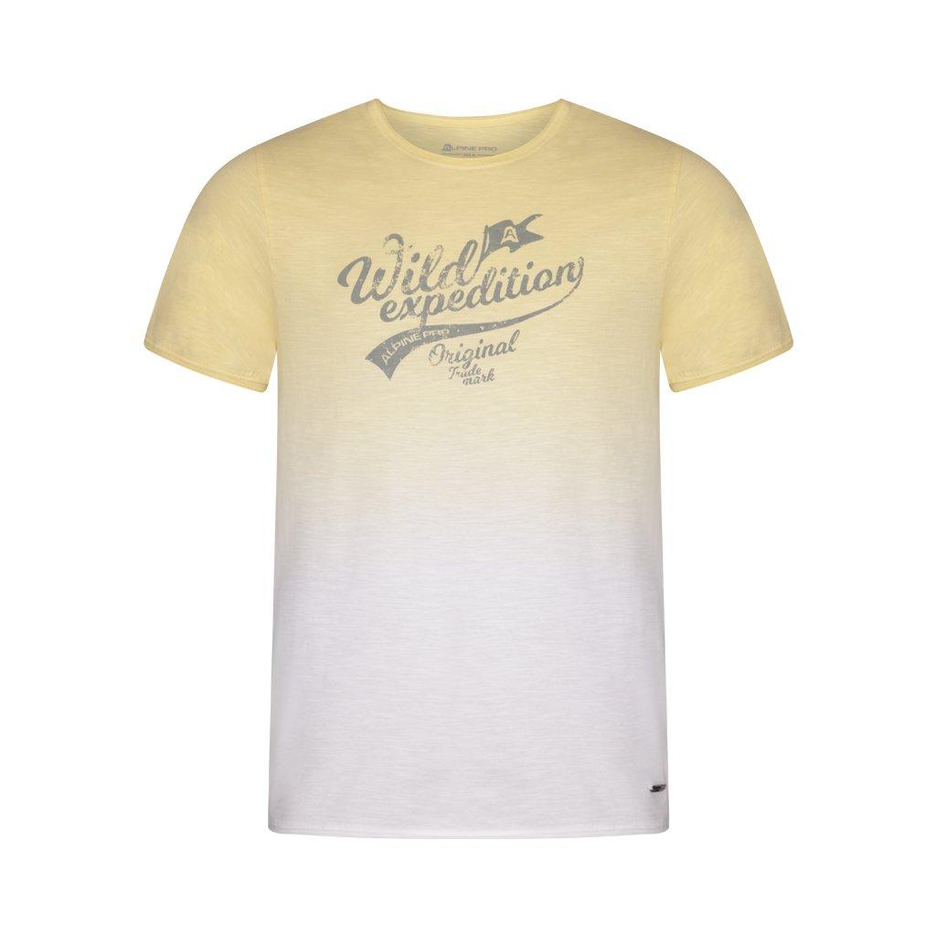 Pánské triko ALPINE PRO Gang žlutá