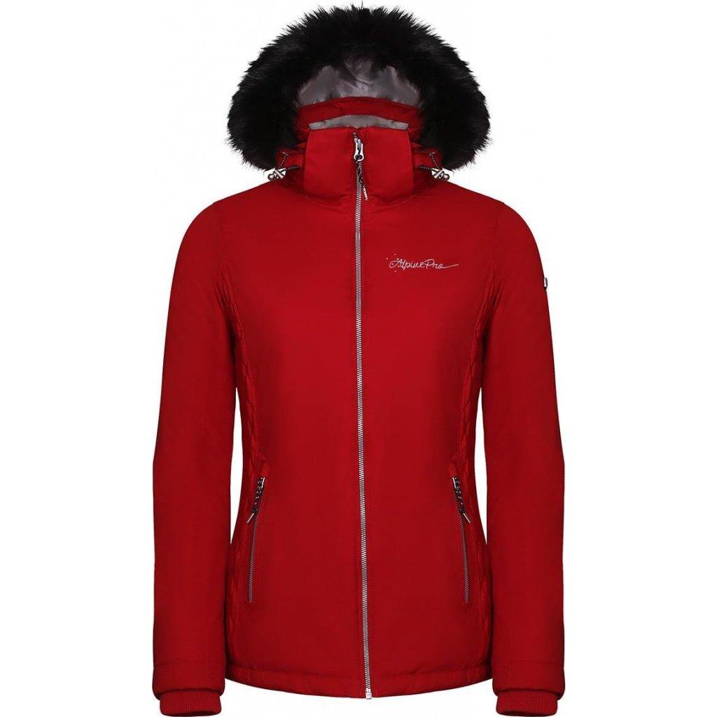 Dámská lyžařská bunda ALPINE PRO Memka 4 červená