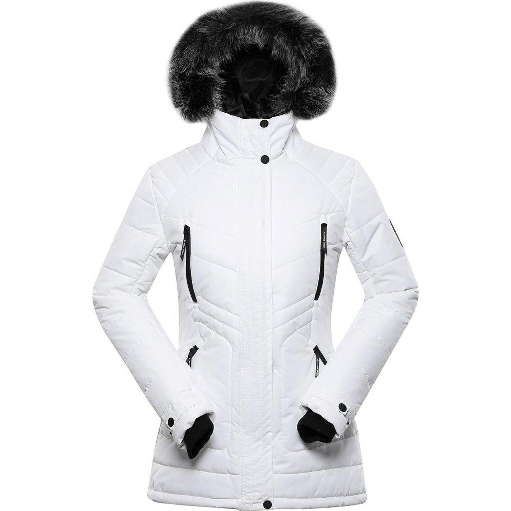 Dámská zimní bunda ALPINE PRO Icyba 6 bílá