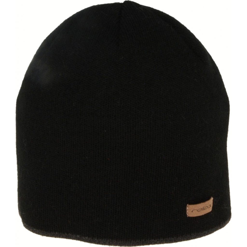 Zimní čepice RELAX George černá