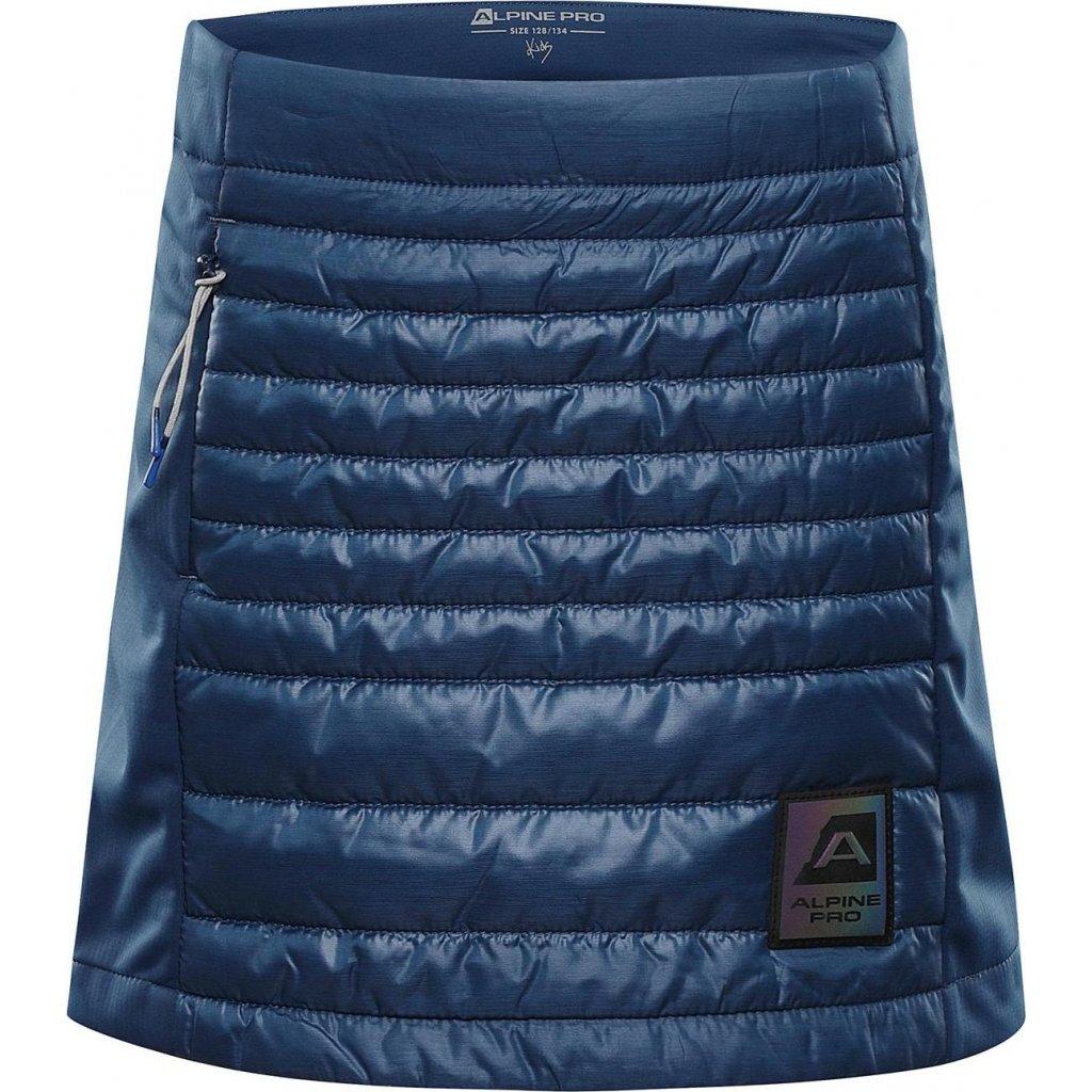 Dětská zimní sukně ALPINE PRO Trinito 6 modrá