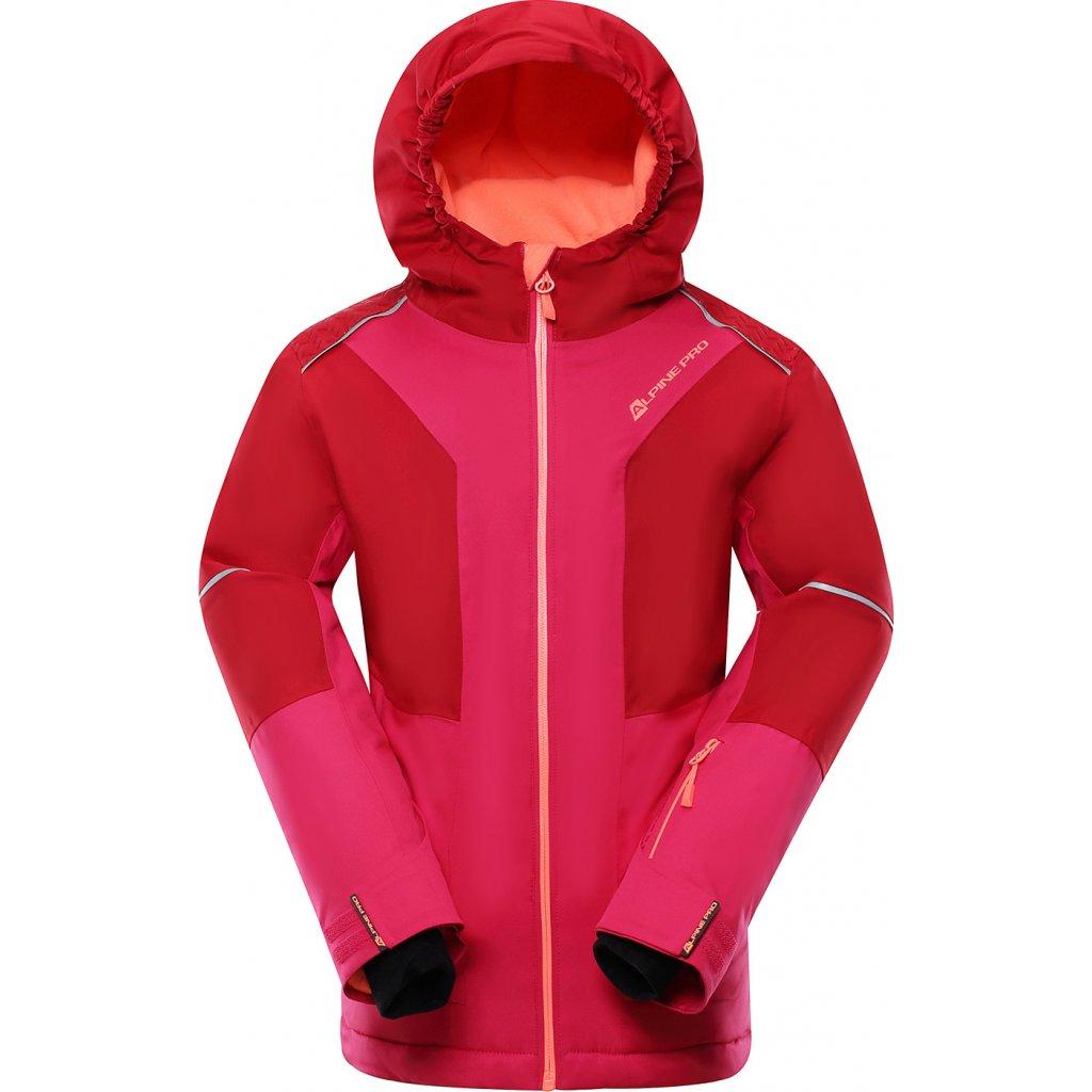 Dětská lyžařská bunda ALPINE PRO Mikaero 3 růžová