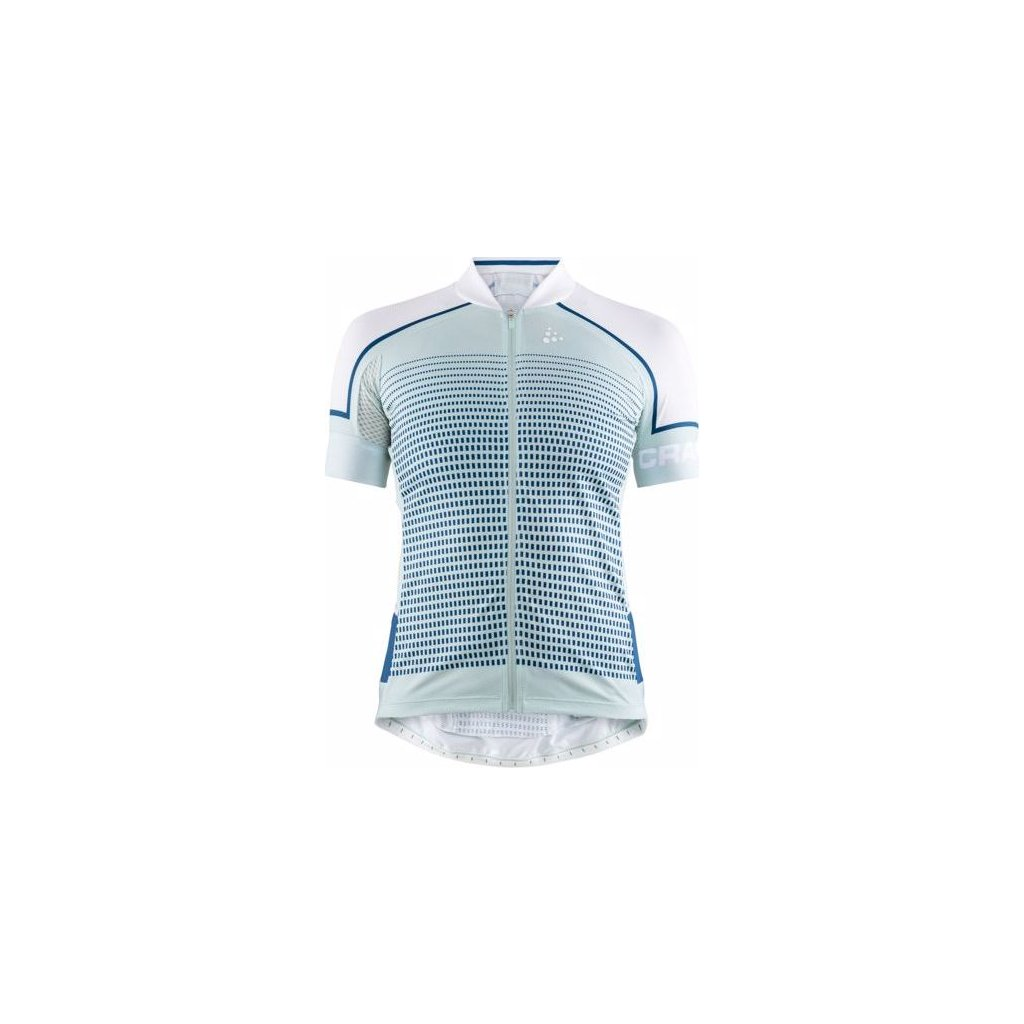Dámský cyklistický dres CRAFT Empress světle modrá