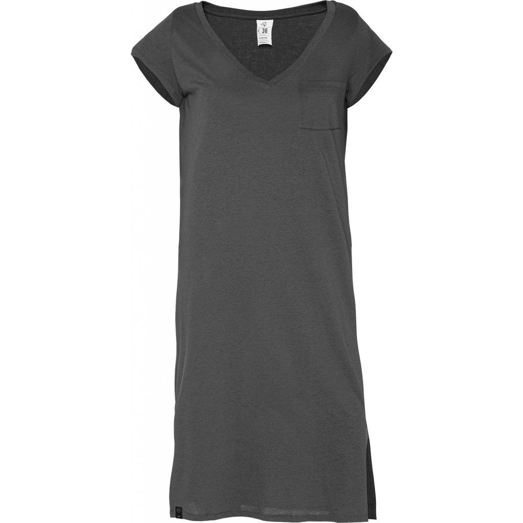 Dámské šaty WOOX Amami Blackened Pearl