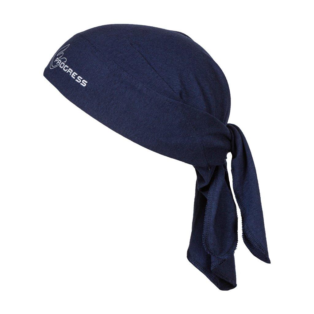 Trojcípý funkční šátek PROGRESS B Sat tm.modrá
