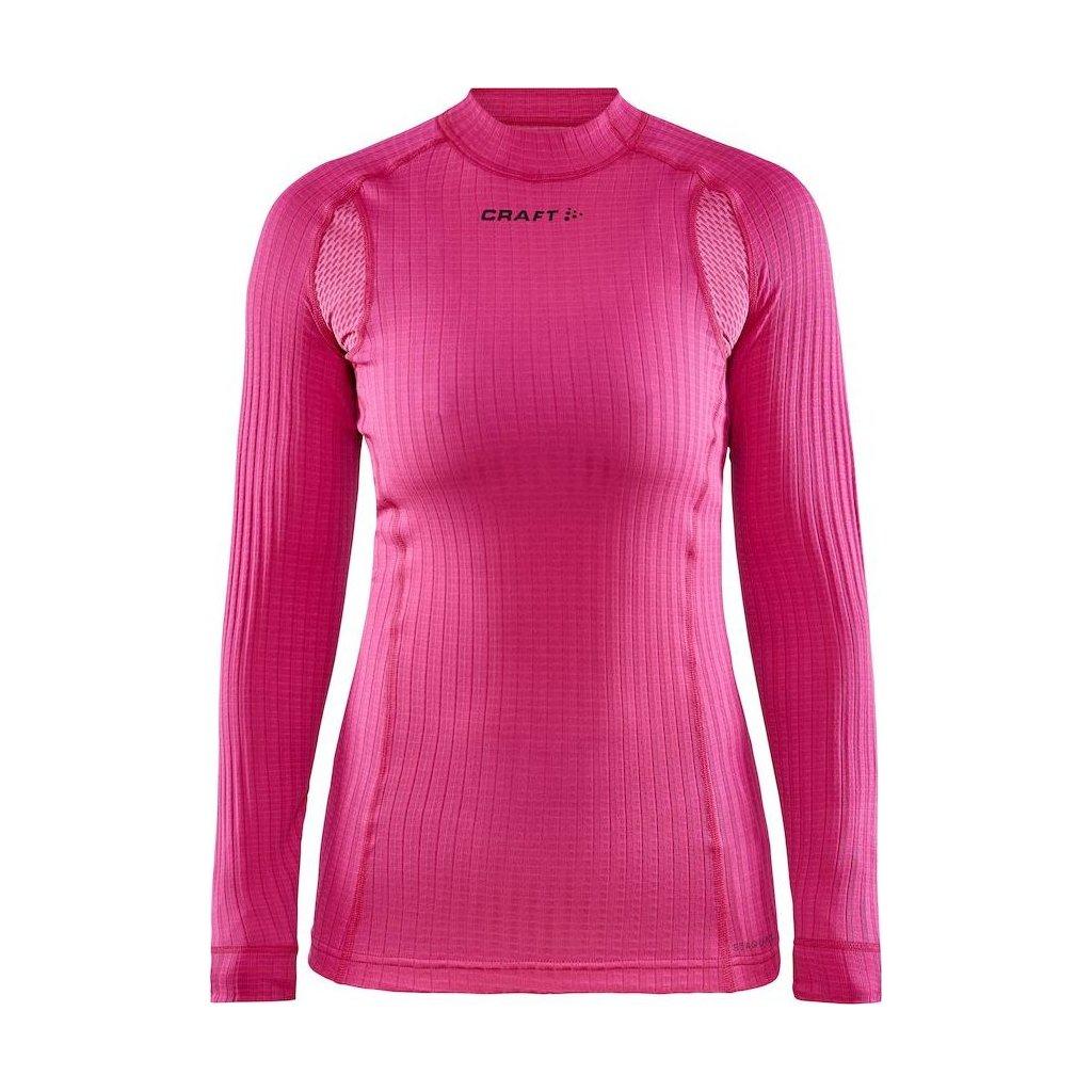 Dámské termo tričko CRAFT Active Extreme X Ls  růžová