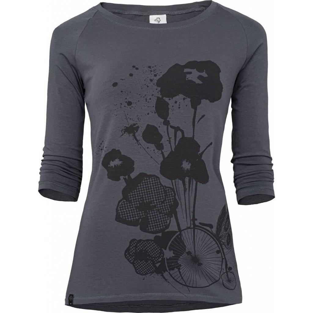 Dámské tričko WOOX Rombus Ater