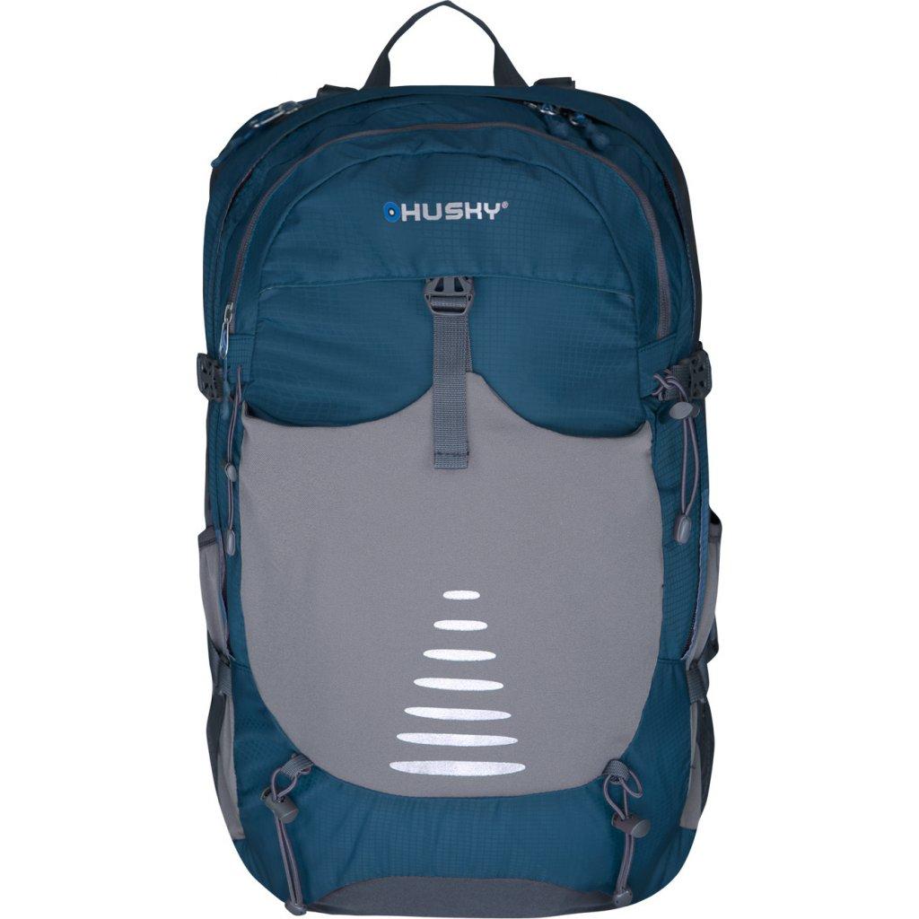 Batoh Turistika / Cyklo  HUSKY Skid 30l modrá  + Sleva 5% - zadej v košíku kód: SLEVA5