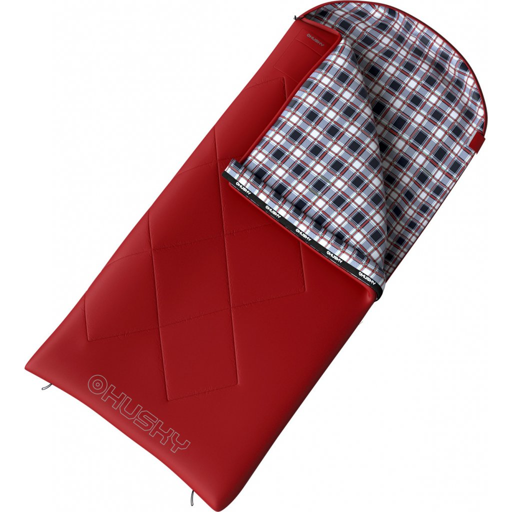 Spacák dekový HUSKY  Kids Galy -5°C červená  + Sleva 5% - zadej v košíku kód: SLEVA5