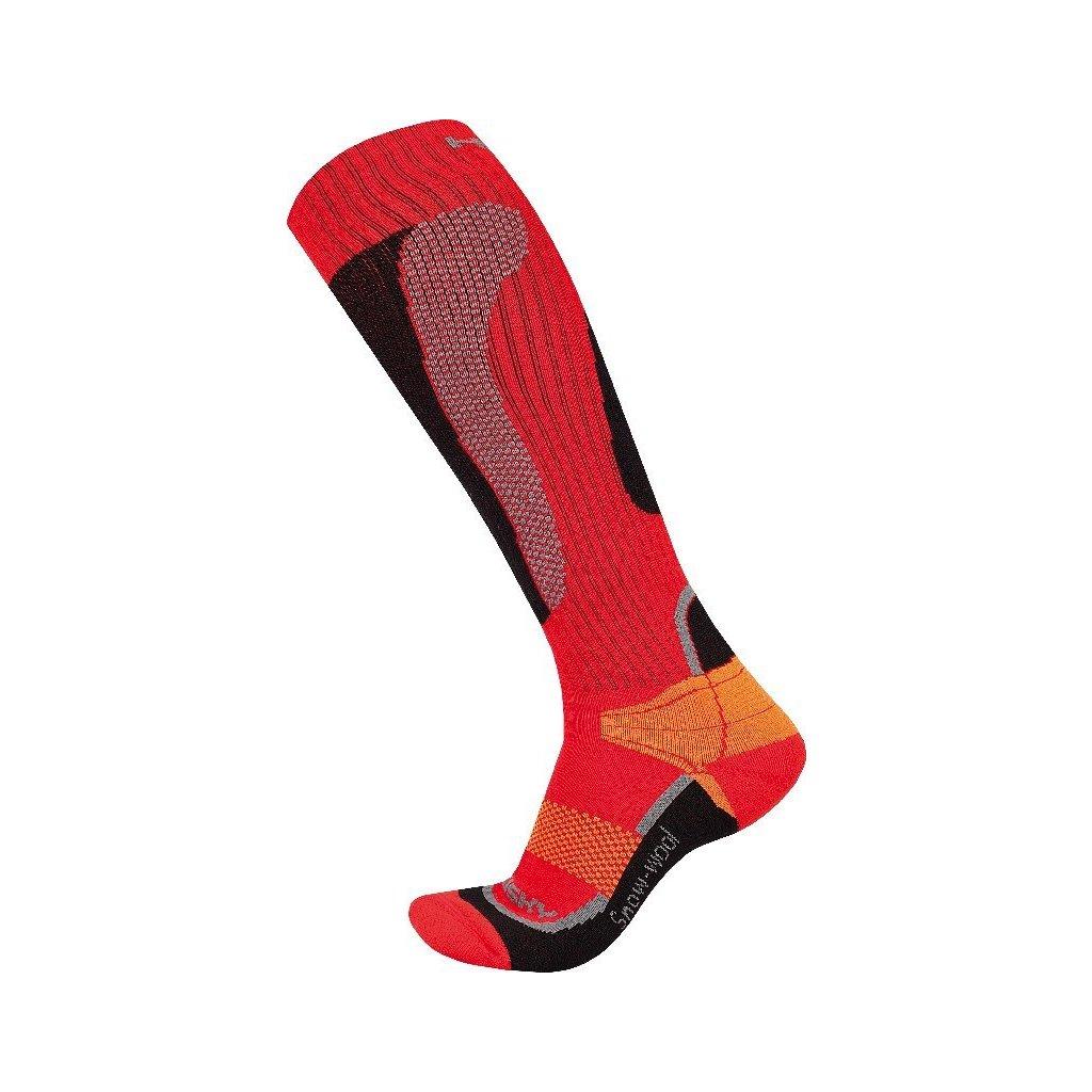 Ponožky HUSKY   Snow Wool červená  + Sleva 5% - zadej v košíku kód: SLEVA5