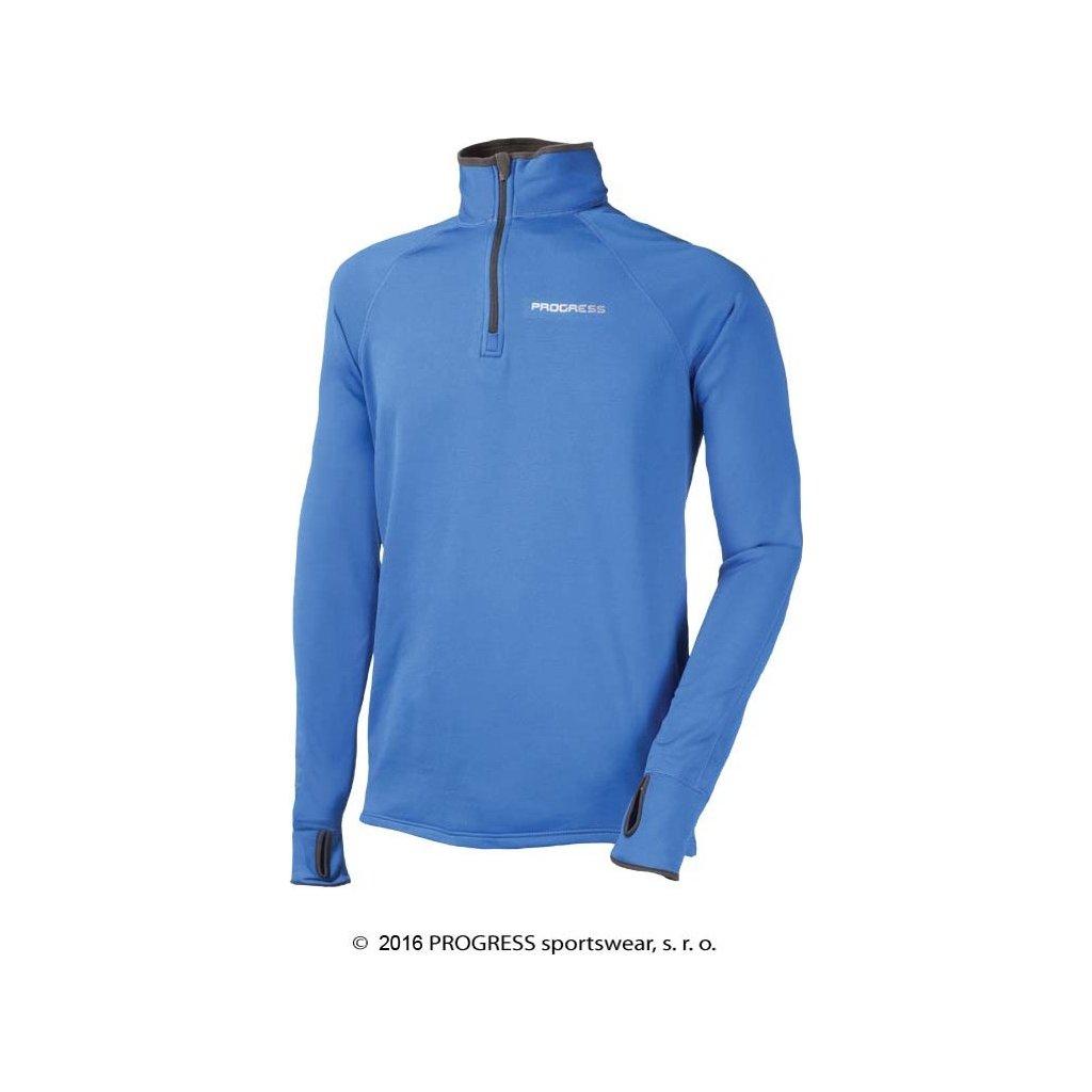 Pánský funkční sportovní pulovr PROGRESS Kamil  + Sleva 5% - zadej v košíku kód: SLEVA5