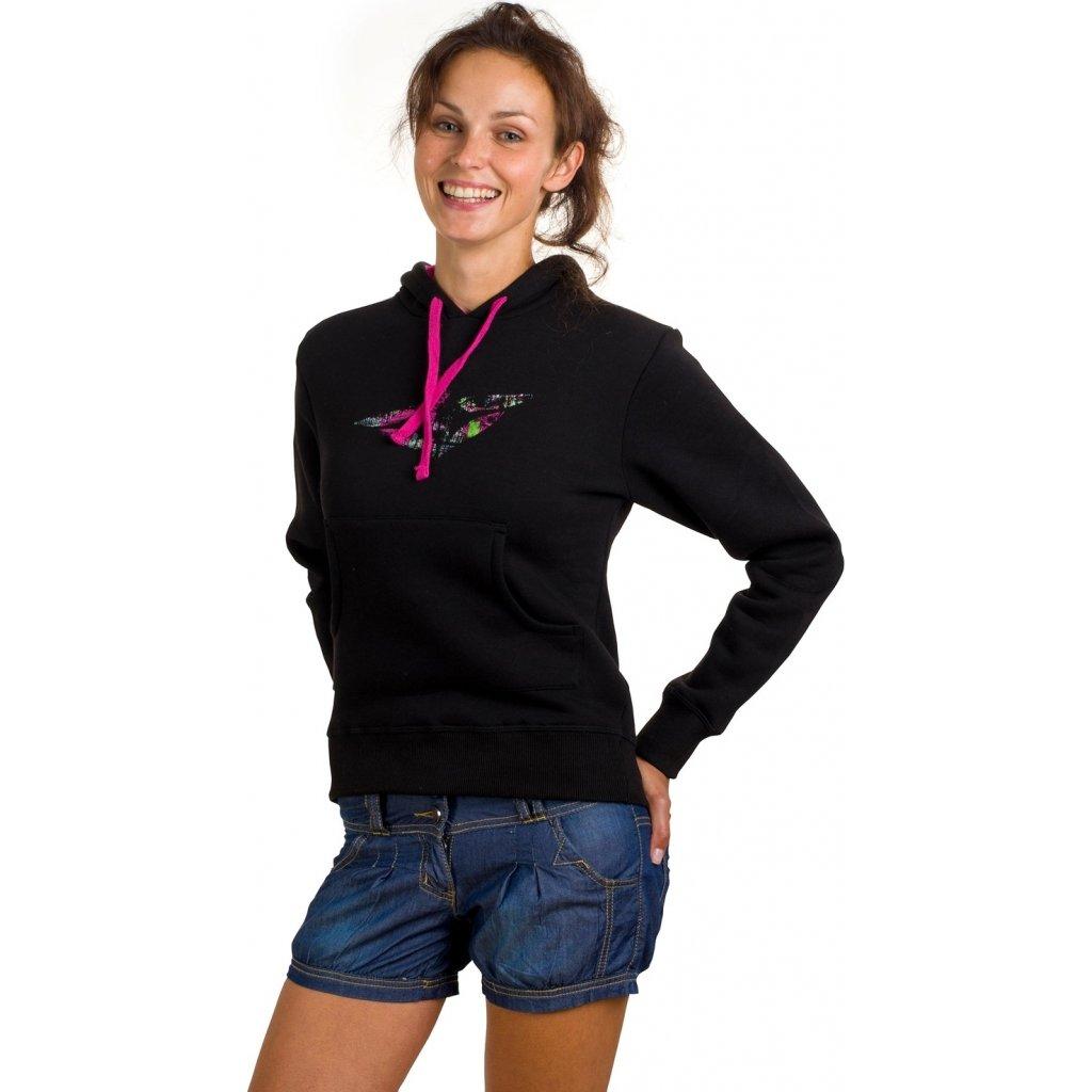 77aa6cf09e3 Dámská mikina WOOX Donna Sweatshirt Black + Sleva 5% - zadej v ...