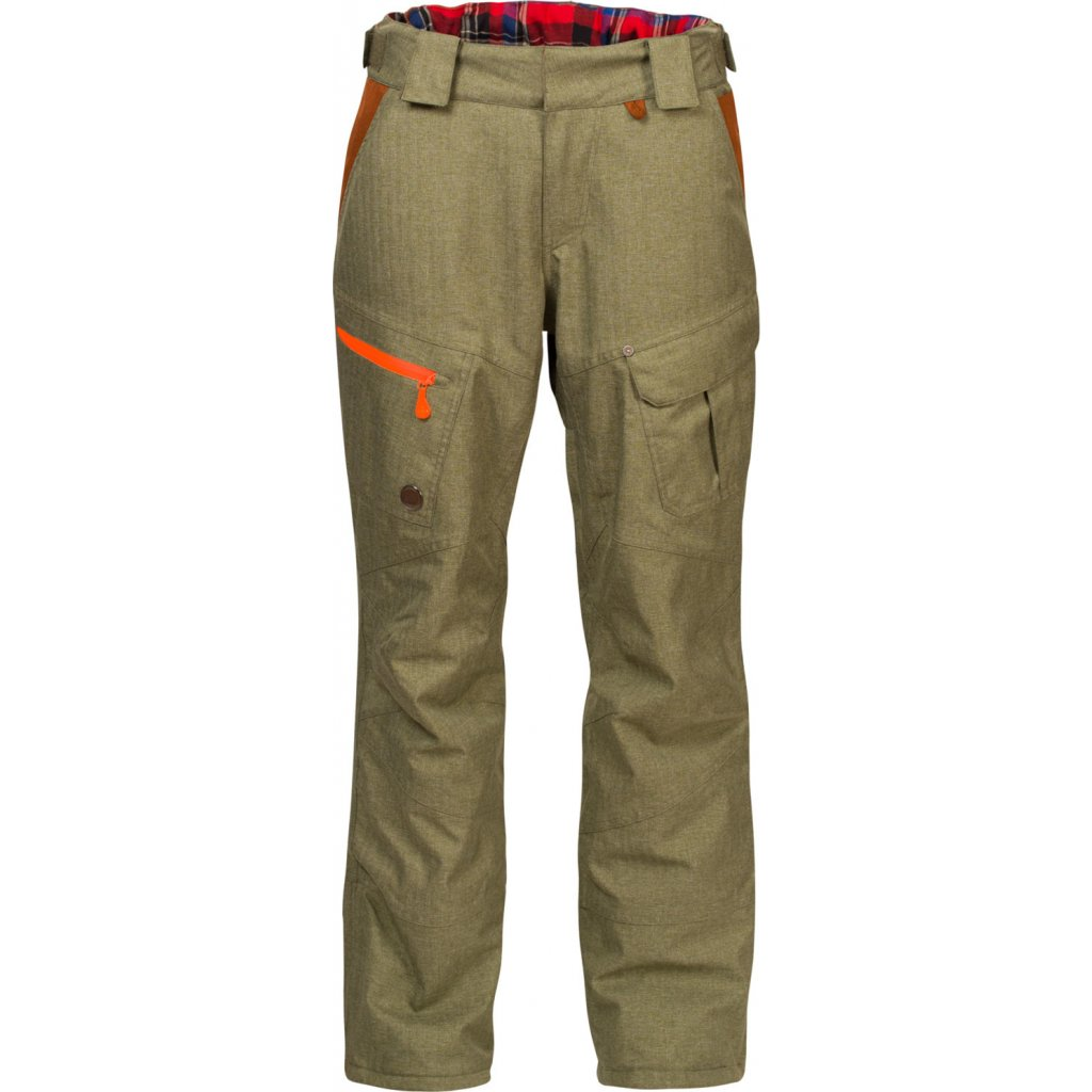 Pánské zimní kalhoty WOOX Braccis Lanula Olive Senor  + Sleva 5% - zadej v košíku kód: SLEVA5