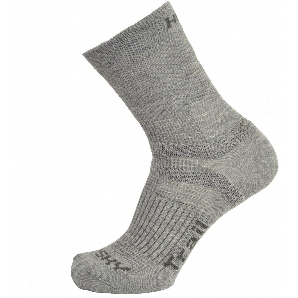 Ponožky HUSKY   Trail sv. šedá  + Sleva 5% - zadej v košíku kód: SLEVA5