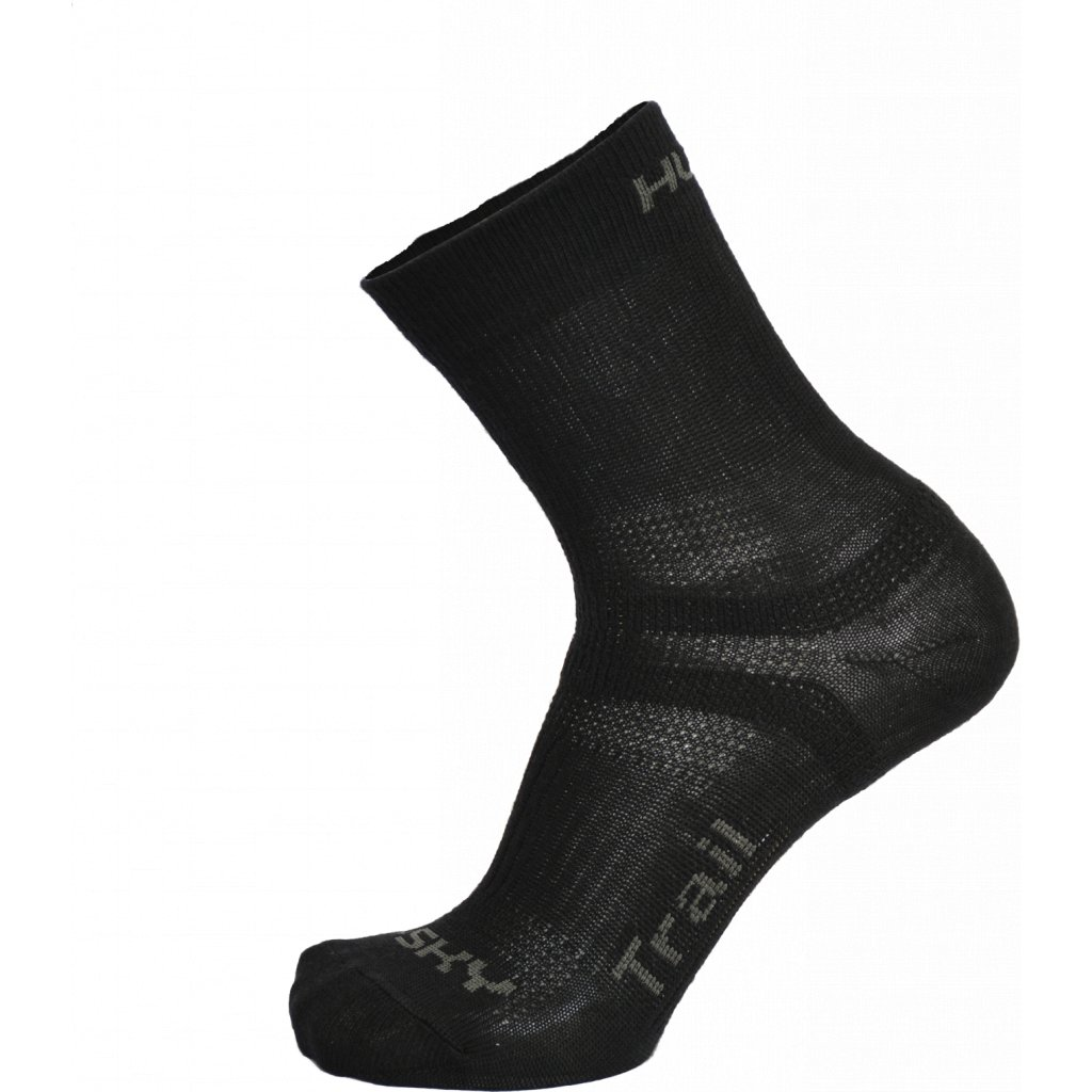 Ponožky HUSKY   Trail černá  + Sleva 5% - zadej v košíku kód: SLEVA5