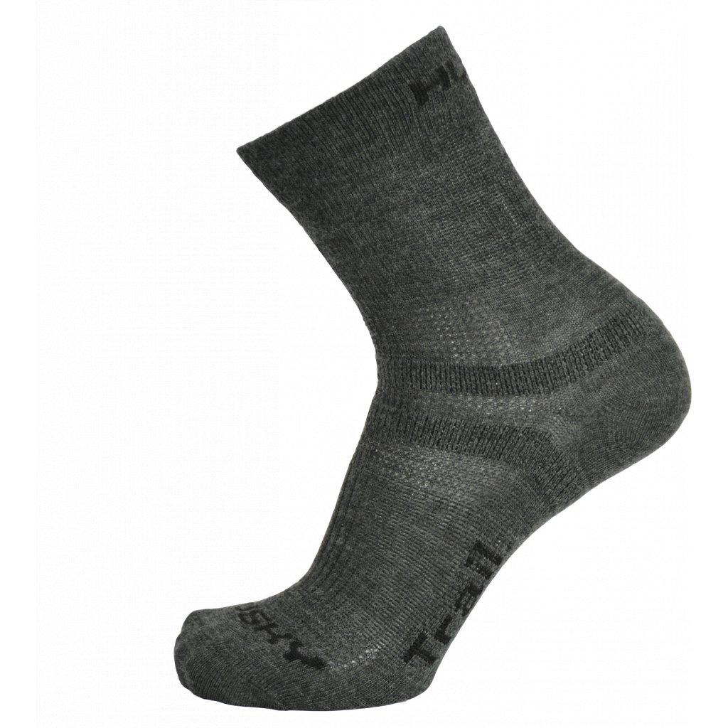 Ponožky HUSKY   Trail antracit  + Sleva 5% - zadej v košíku kód: SLEVA5