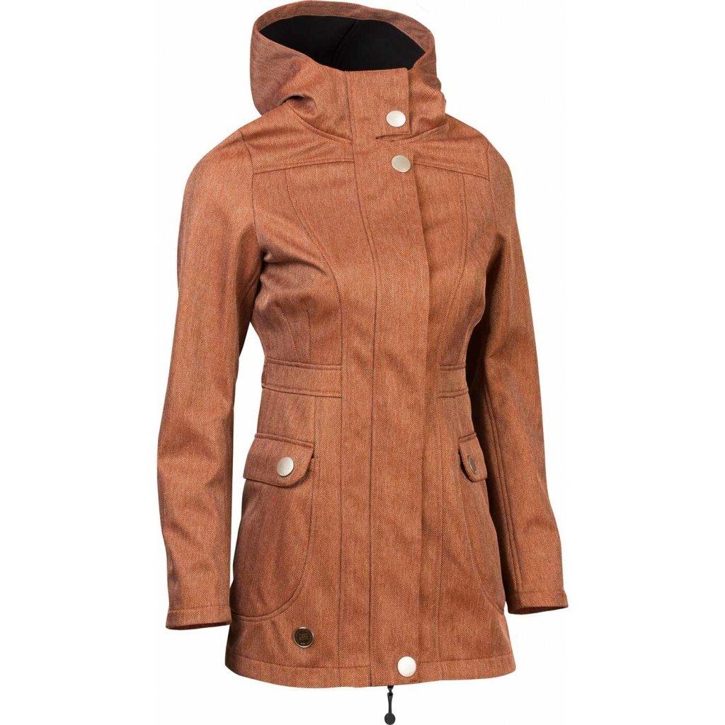 Dámská softshellová bunda WOOX Urbem Concha Ginger Chica  + Sleva 5% - zadej v košíku kód: SLEVA5