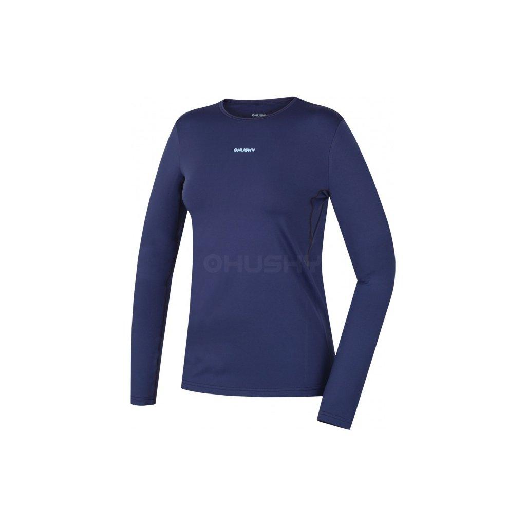 Dámské termo triko HUSKY Active winter long modrá, L  + Sleva 5% - zadej v košíku kód: SLEVA5