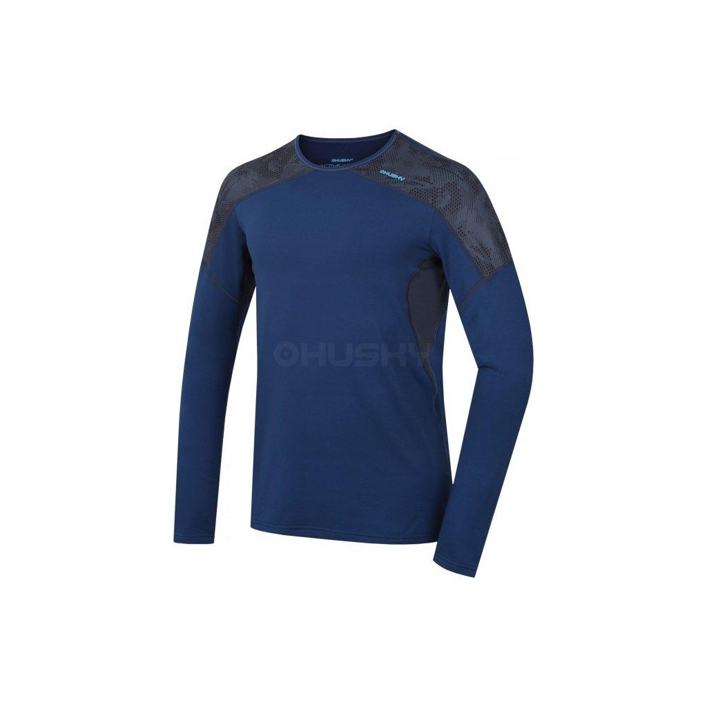 Pánské termo triko HUSKY Active winter long tm.modrá, L  + Sleva 5% - zadej v košíku kód: SLEVA5