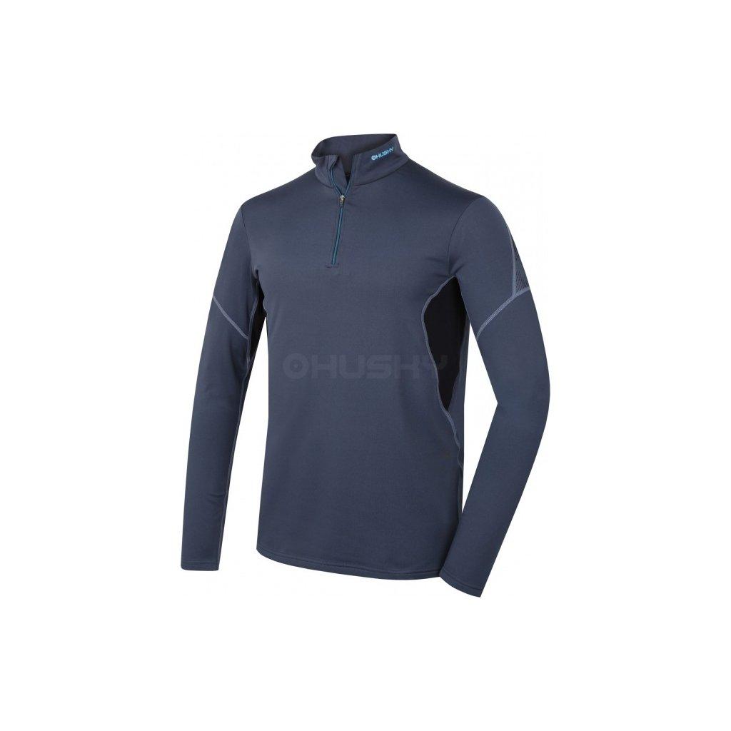 Pánské termo triko  HUSKY Active winter long zip antracit, M  + Sleva 5% - zadej v košíku kód: SLEVA5