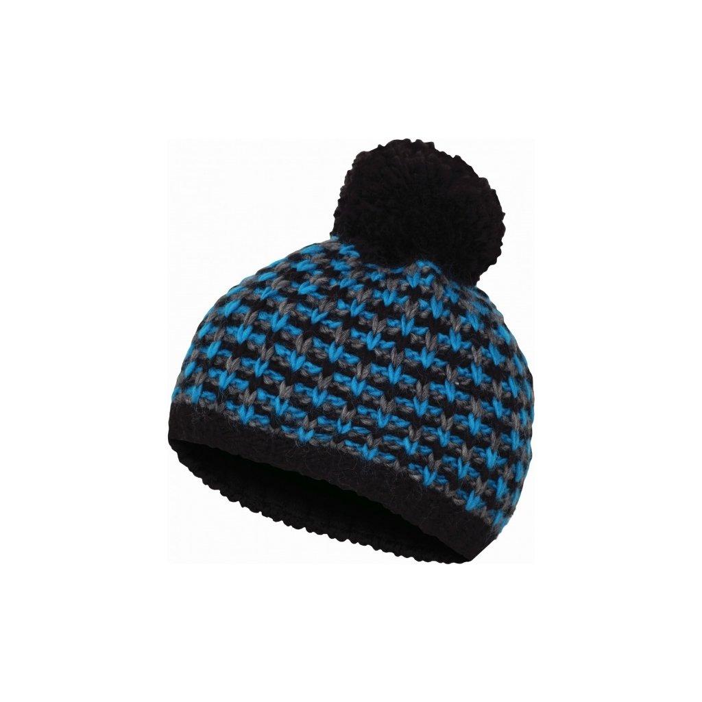 Čepice HUSKY Cap 9 Černá/modrá, S-M  + Sleva 5% - zadej v košíku kód: SLEVA5