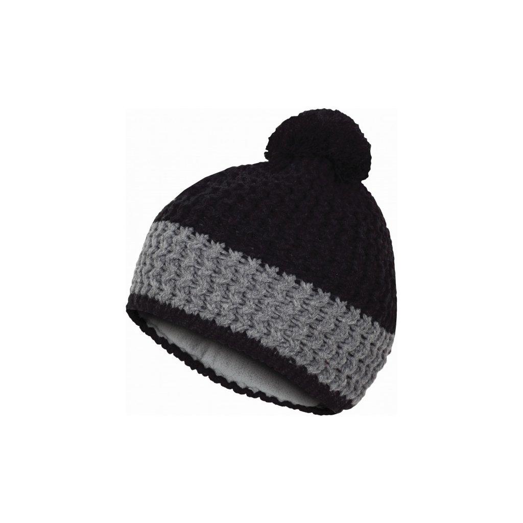 Čepice HUSKY Cap 12 černá, S-M  + Sleva 5% - zadej v košíku kód: SLEVA5