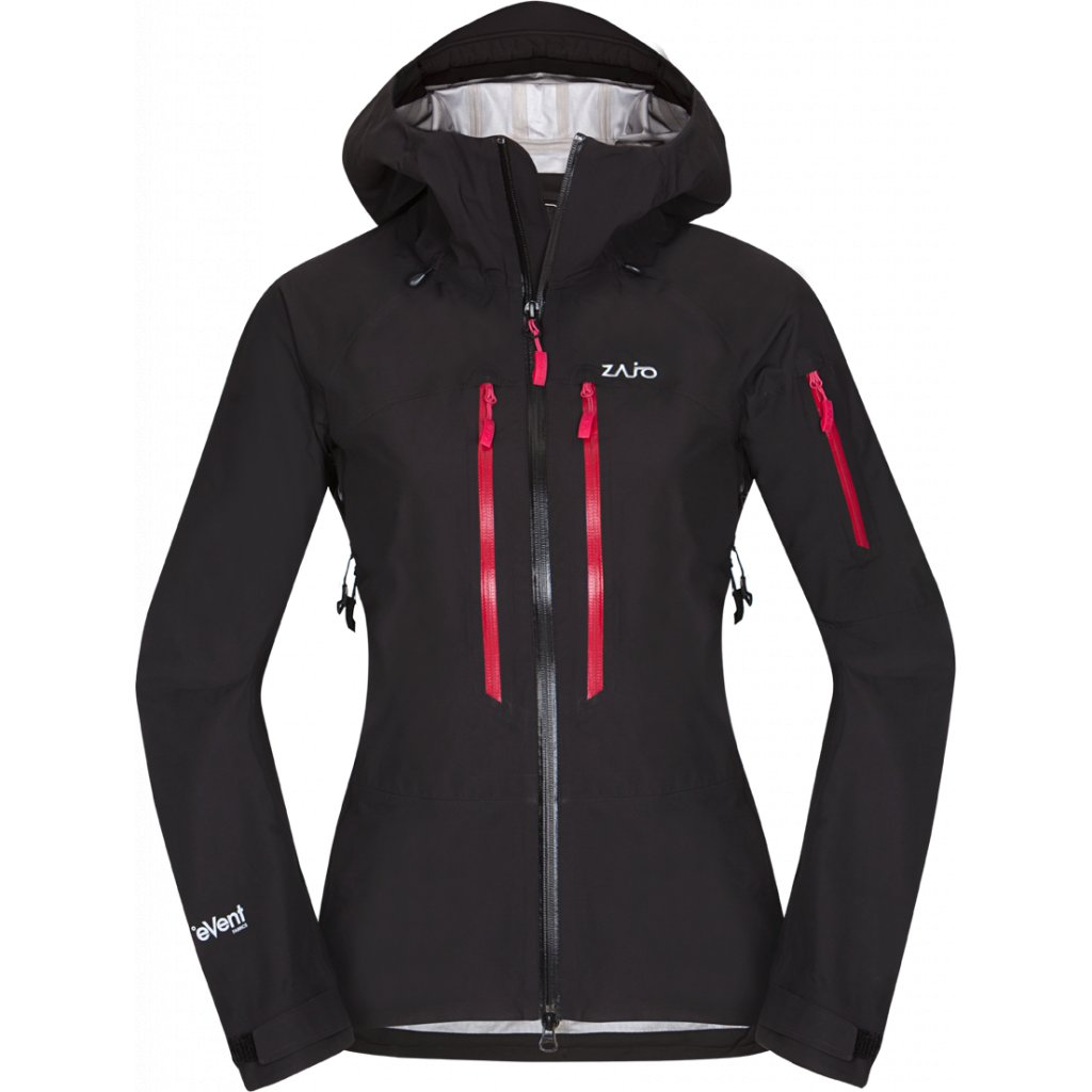 Dámská nepromokavá lyžařská bunda ZAJO Annapurna W Jkt černá  + Sleva 5% - zadej v košíku kód: SLEVA5