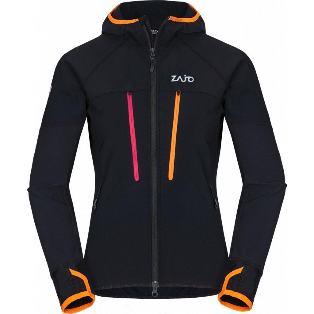 Dámská podzimní bunda ZAJO Ramsau W Jkt černá  + Sleva 5% - zadej v košíku kód: SLEVA5