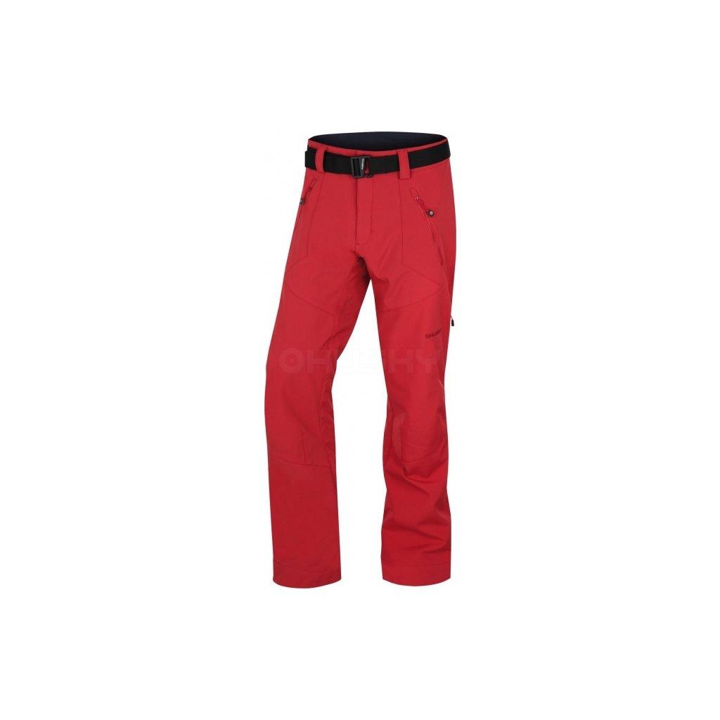 Pánské outdoor kalhoty HUSKY   Kresi M červená  + Sleva 5% - zadej v košíku kód: SLEVA5