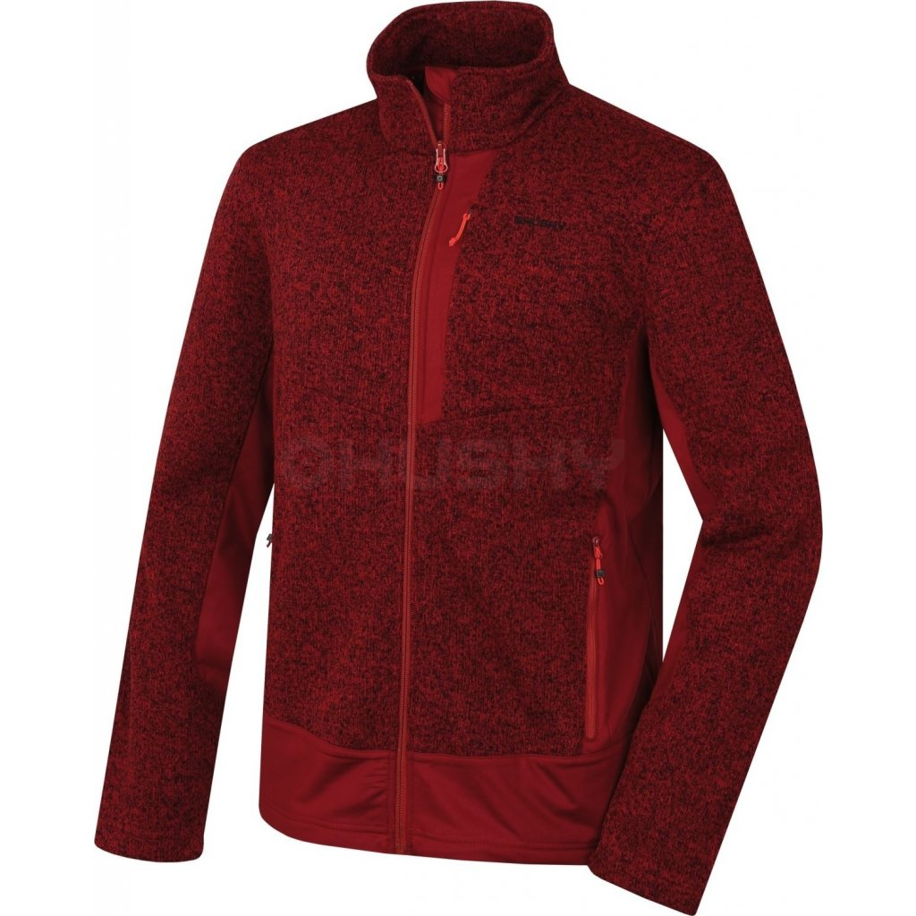 Pánský fleecový svetr HUSKY Alan M tm. bordó  + Sleva 5% - zadej v košíku kód: SLEVA5