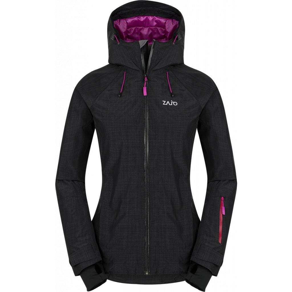Dámská zimní bunda ZAJO Lizard Neo W Jkt černá  + Sleva 5% - zadej v košíku kód: SLEVA5