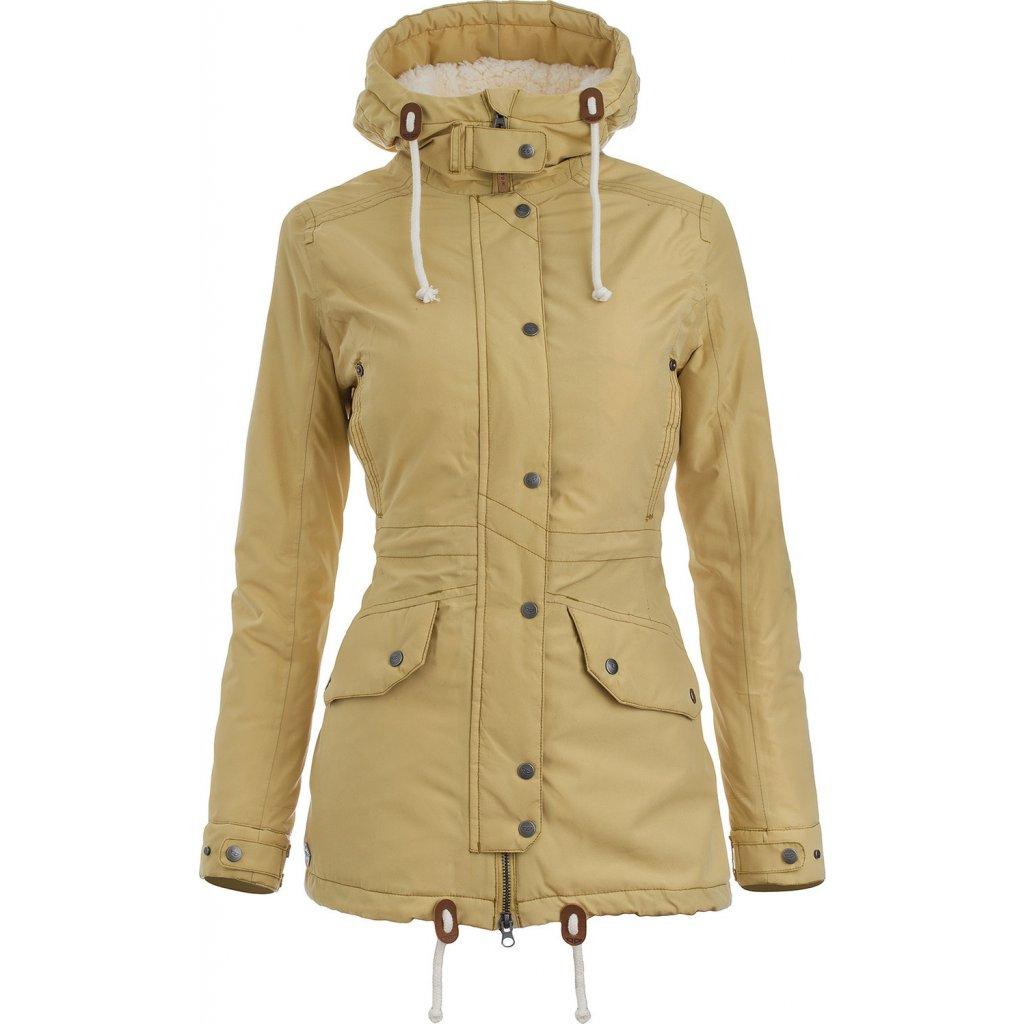Dámská podzimní bunda WOOX Ventus Calida Fall Leaf Chica  + Sleva 5% - zadej v košíku kód: SLEVA5