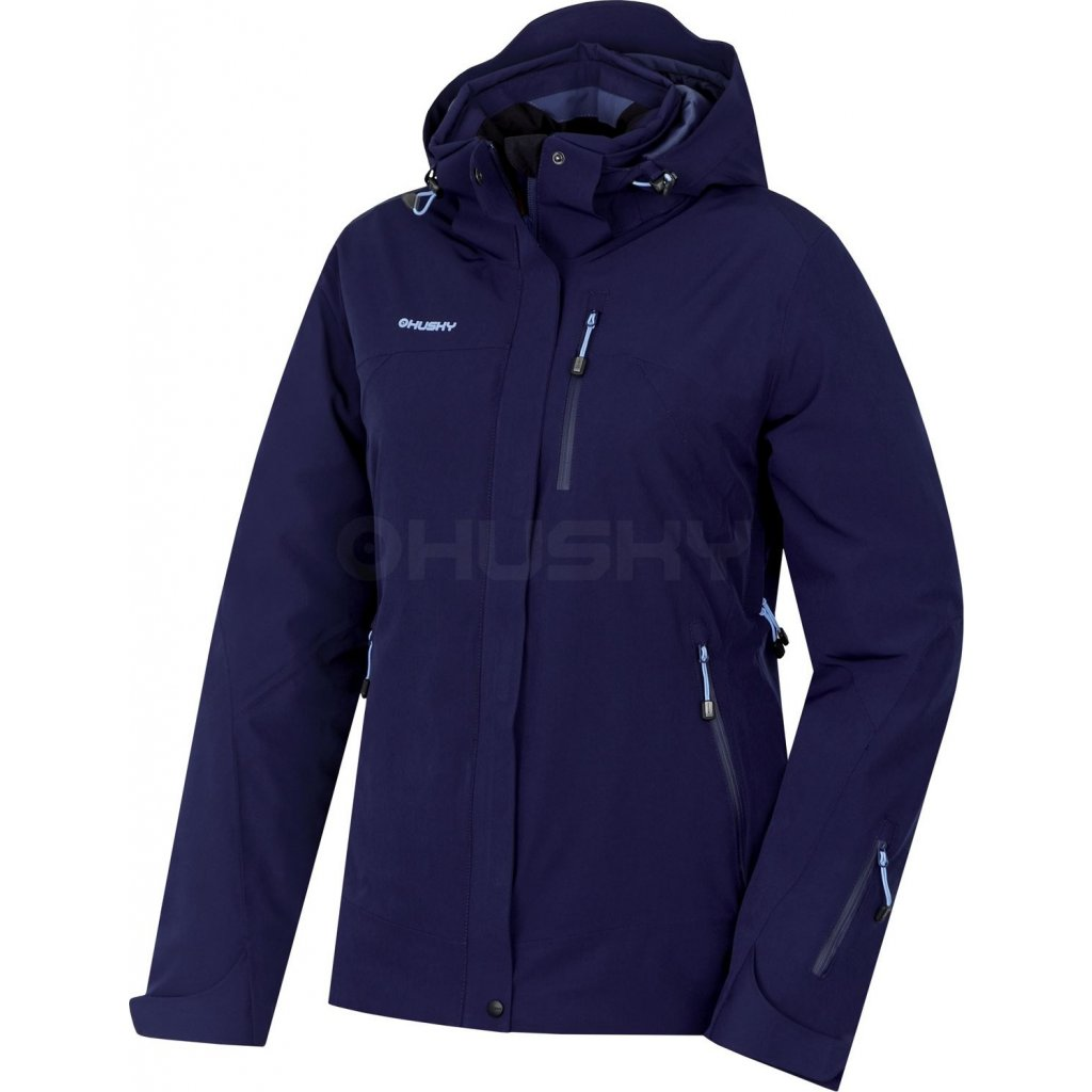 Dámská lyžařská bunda HUSKY Gairi L tm.modrá  + Sleva 5% - zadej v košíku kód: SLEVA5