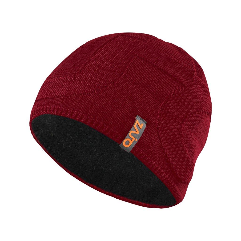 Čepice Riku M Beanie rudá  + Sleva 5% - zadej v košíku kód: SLEVA5
