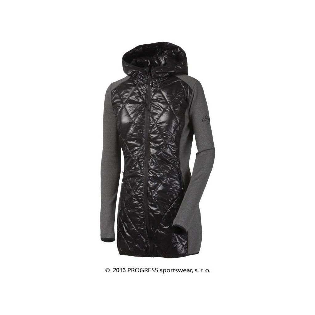 Dámský sportovní hybridní kabátek s kapucí PROGRESS Silvretta  + Sleva 5% - zadej v košíku kód: SLEVA5
