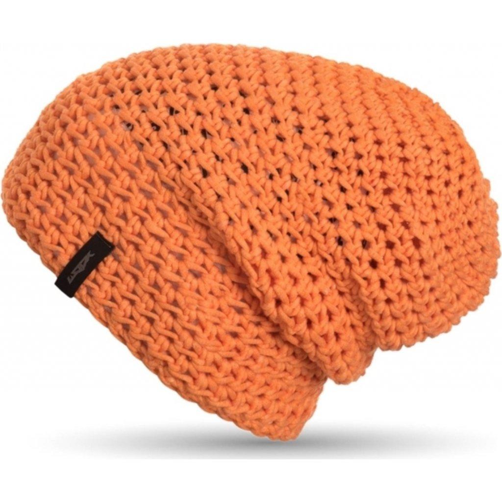 Čepice WOOX Frigus beanie mandarine  + Sleva 5% - zadej v košíku kód: SLEVA5
