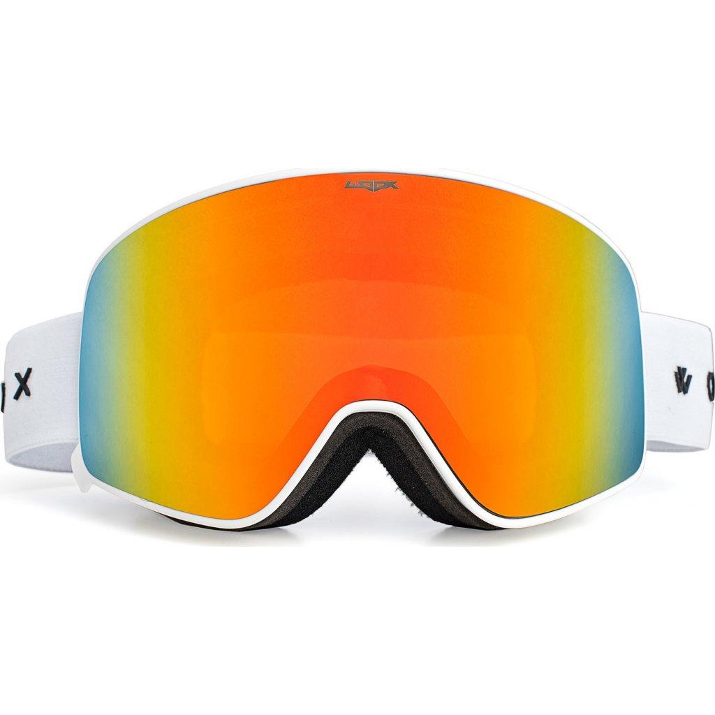 Lyžařské brýle WOOX Opticus Temporarius White/Re  + Sleva 5% - zadej v košíku kód: SLEVA5