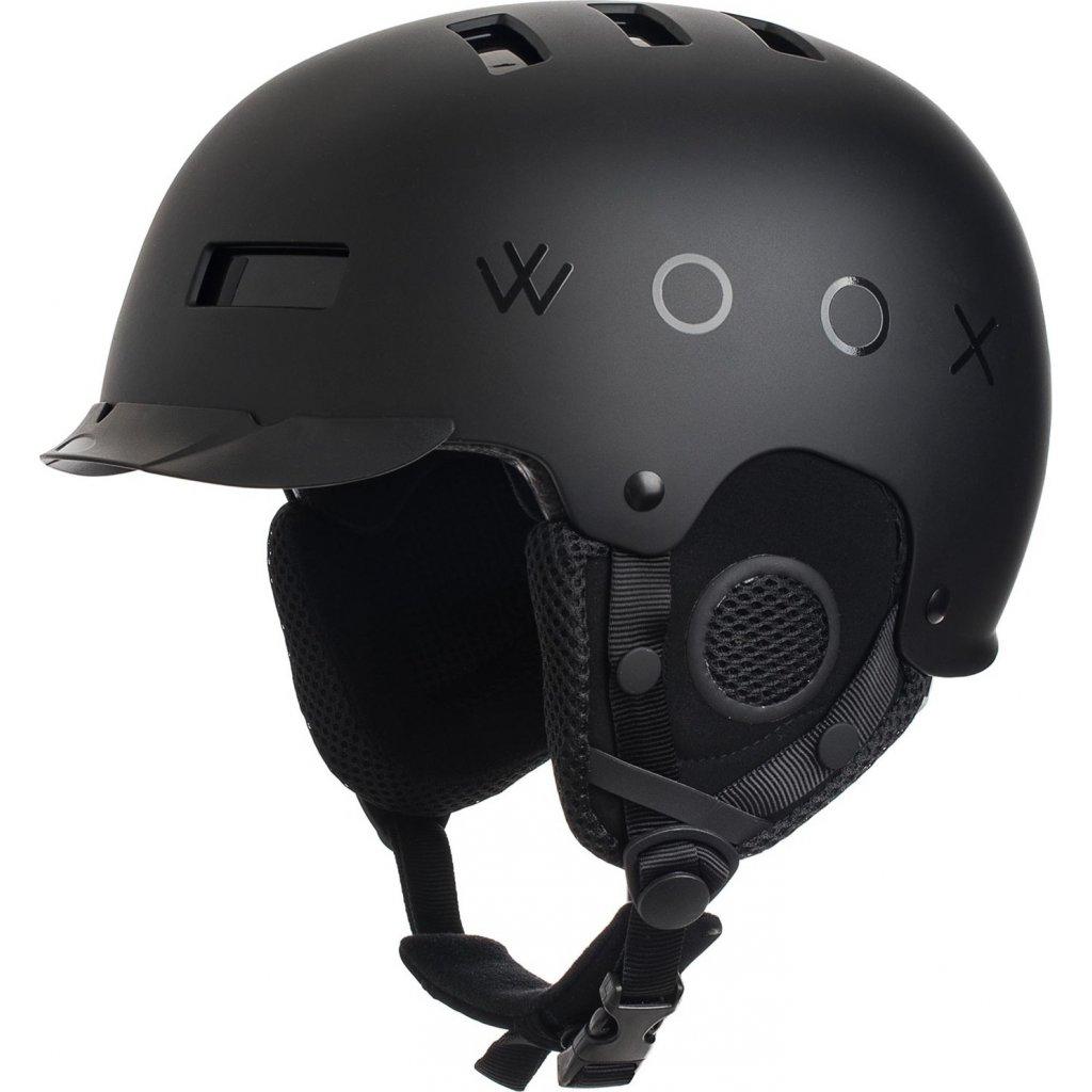Přilba WOOX Brainsaver Preto  + Sleva 5% - zadej v košíku kód: SLEVA5