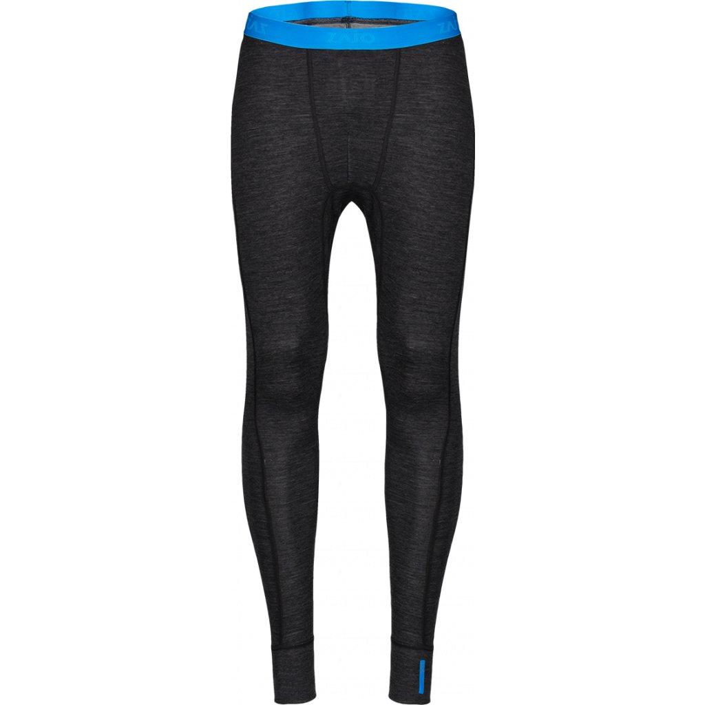 Pánské spodky ZAJO Bergen Merino Pants černá  + Sleva 5% - zadej v košíku kód: SLEVA5