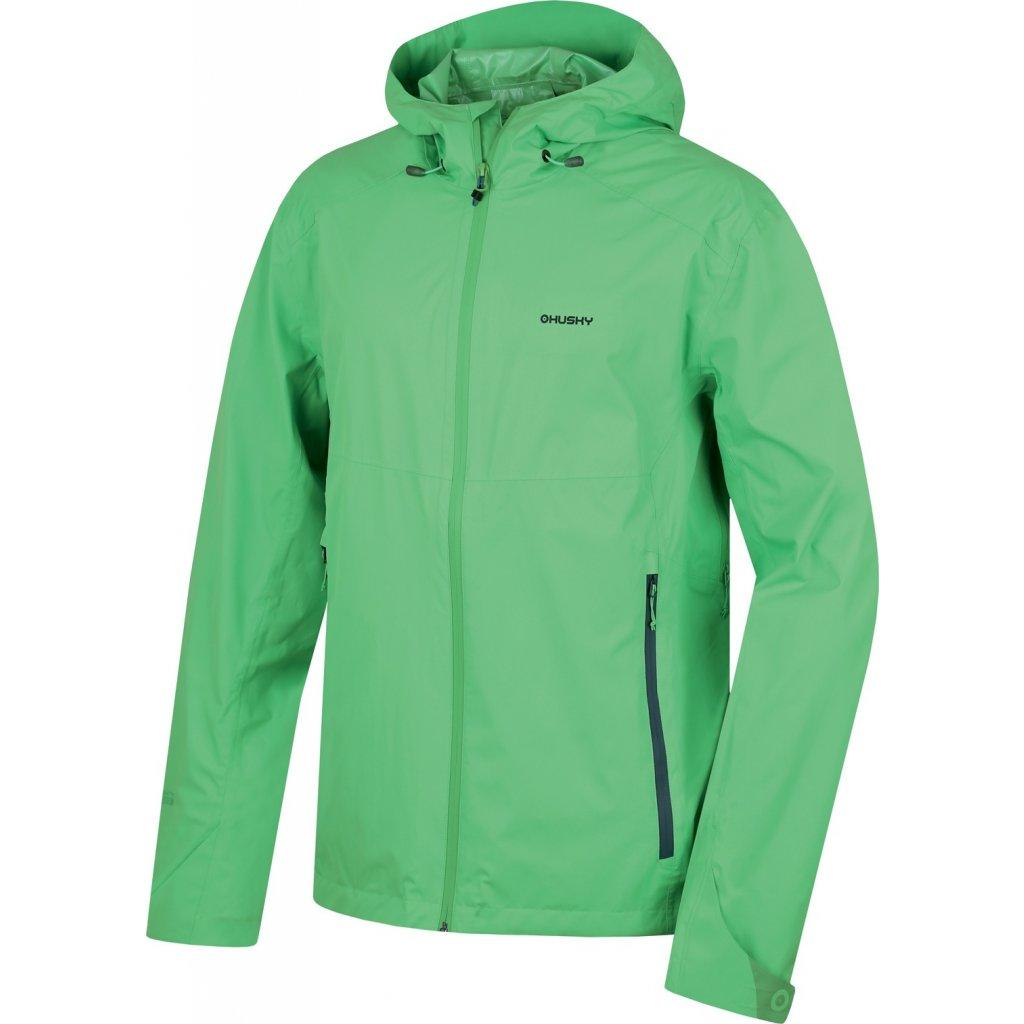 Pánská outdoor bunda  HUSKY Lamy M sv. zelená  + Sleva 5% - zadej v košíku kód: SLEVA5